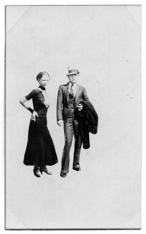Primary view of object titled '[Clyde Barrow and Bonnie Parker]'.