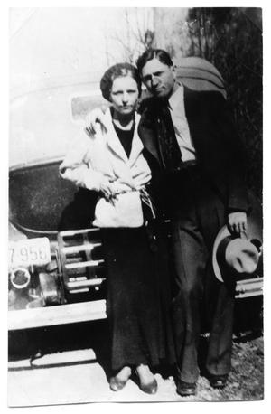 Primary view of object titled '[Clyde Champion Barrow and Bonnie Parker]'.