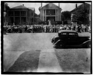 Primary view of object titled '[Bonnie Parker's Funeral - Dallas, Texas]'.