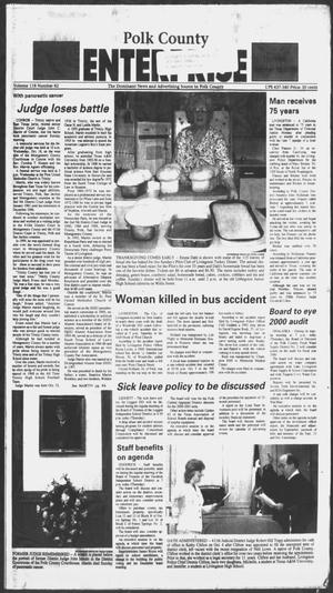 Primary view of object titled 'Polk County Enterprise (Livingston, Tex.), Vol. 118, No. 82, Ed. 1 Thursday, October 19, 2000'.