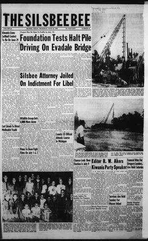 Primary view of object titled 'The Silsbee Bee (Silsbee, Tex.), Vol. 42, No. 16, Ed. 1 Thursday, June 23, 1960'.