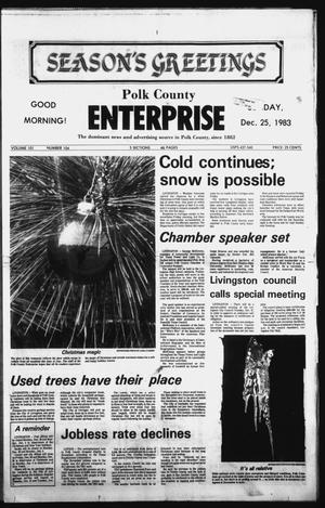 Primary view of object titled 'Polk County Enterprise (Livingston, Tex.), Vol. 101, No. 104, Ed. 1 Sunday, December 25, 1983'.