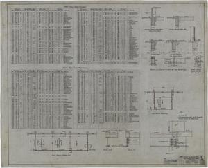Primary view of object titled 'Abilene Hotel: Schedules'.