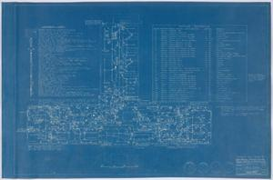 Primary view of object titled 'Hospital Building, Midland, Texas: Mechanical Plan'.