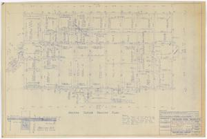 Primary view of object titled 'Sterling County Courthouse: Second Floor Framing Plan'.