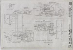Primary view of object titled 'Abilene Public Library, Abilene, Texas: Basement Air-Conditioning Floor Plan'.