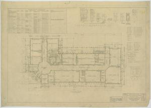 Primary view of object titled 'Garden City High School: Floor Plan and Schedules'.