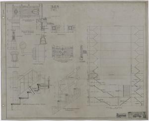 Primary view of object titled 'Abilene Hotel: Stair Diagram'.