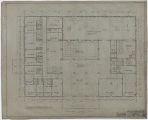 Primary view of object titled 'Abilene Hotel: Mezzanine Floor Plan'.