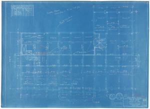 Primary view of object titled 'Sterling County Courthouse: Structural Plan'.
