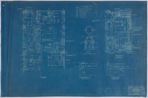 Primary view of object titled 'Hospital Building, Midland, Texas: Floor Plans'.