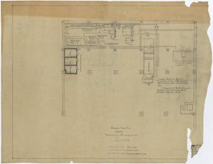Primary view of object titled 'Abilene Hotel: Basement Floor Plan'.