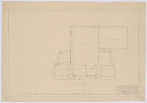 Primary view of object titled 'School Building Alterations, Royston, Texas: Floor Plan'.