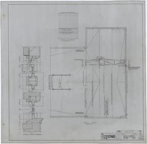 Primary view of object titled 'High School Building Addition, Rule, Texas: Roof Plan'.