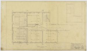 Primary view of object titled 'Iraan High School Addition: Second Floor Plan'.
