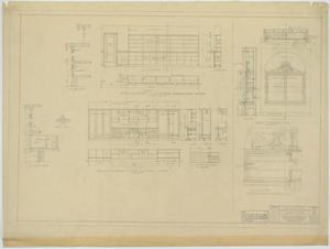 Primary view of object titled 'Garden City High School: Cabinet Details'.