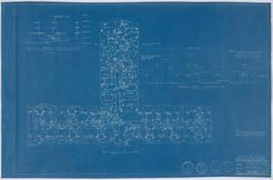 Primary view of object titled 'Hospital Building, Midland, Texas: Floor Plan'.
