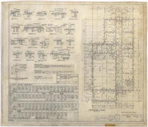 Primary view of object titled 'Hermleigh High School: Foundation Plan'.