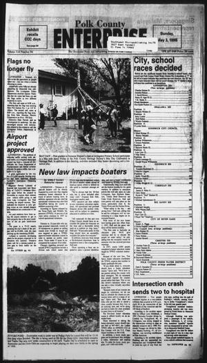 Primary view of Polk County Enterprise (Livingston, Tex.), Vol. 116, No. 36, Ed. 1 Sunday, May 3, 1998