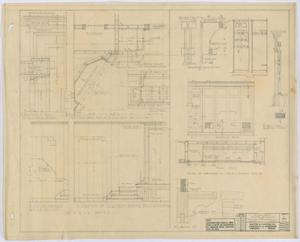 Primary view of object titled 'School Building, Hamlin, Texas: Miscellaneous Details'.