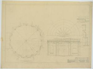 Primary view of object titled 'Garden City High School: Art Exhibit Hall Plans'.