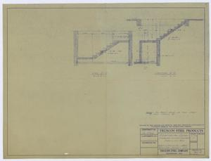 Primary view of object titled 'Sterling County Courthouse: Sections C'-C' and C-C'.