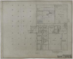 Primary view of object titled 'Abilene Hotel: Basement Plan'.