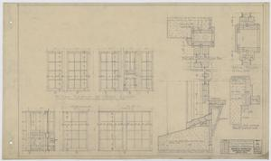 Primary view of object titled 'Iraan High School Addition: Miscellaneous Details'.