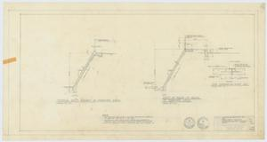 Primary view of object titled 'High School Gymnasium Proposal, Ozona, Texas: Diagrams'.