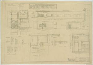 Primary view of object titled 'School Addition, Goldthwaite, Texas: Plans, Elevations, and Schedules'.