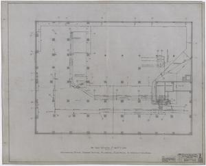 Primary view of object titled 'Abilene Hotel Mechanical Plans: Pipe Plan'.