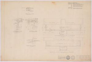 Primary view of object titled 'Silver Peak School Alterations, Silver, Texas: Plans and Sections'.