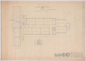Primary view of object titled 'Elementary School Alterations, Ozona, Texas: Electrical Plan'.