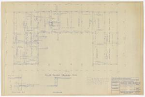 Primary view of object titled 'Sterling County Courthouse: Third Floor Framing Plan'.