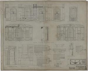 Primary view of object titled 'Abilene Hotel: Banquet Room Plans'.