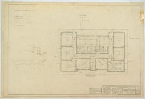 Primary view of object titled 'School Building, Ira, Texas: Mechanical Plan'.