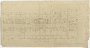 Primary view of object titled 'Abilene Hotel: Fourth Floor Plan'.