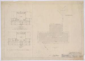 Primary view of School Building, Pecos County, Texas: Floor and Plot Plans