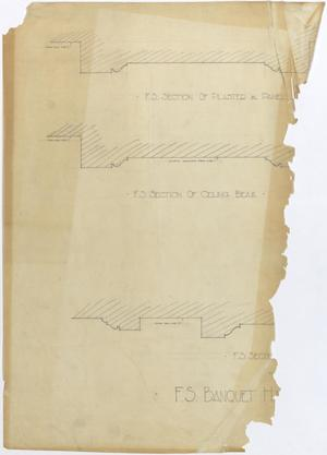 Primary view of object titled 'Abilene Hotel: Sections'.