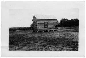 Primary view of object titled '[Barn in a Field]'.