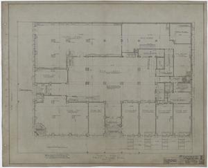 Primary view of object titled 'Abilene Hotel: First Floor Plan'.