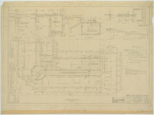 Primary view of object titled 'Garden City High School: Foundation Plan'.