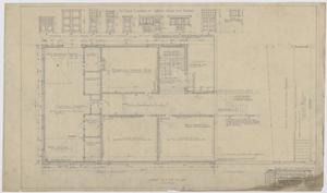 Primary view of object titled 'Iraan High School Addition: First Floor Plan'.