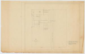 Primary view of object titled 'Silver Peak School Alterations, Silver, Texas: Plot Plan of Campus'.