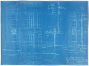 Primary view of object titled 'Sterling County Courthouse: Details and Sections'.