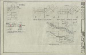 Primary view of object titled 'Abilene Public Library, Abilene, Texas: Stair Details'.