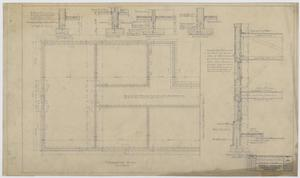 Primary view of object titled 'Iraan High School Addition: Foundation Plan'.
