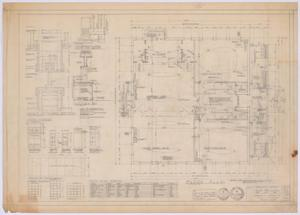 Primary view of object titled 'Silver Peak School Alterations, Silver, Texas: Floor Plan'.