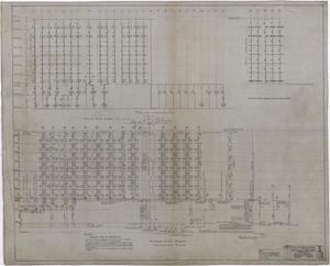 Primary view of Abilene Hotel Mechanical Plans: Mechanical Riser Diagrams
