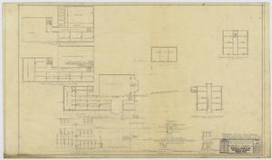 Primary view of object titled 'Iraan High School Addition: Floor Plans'.
